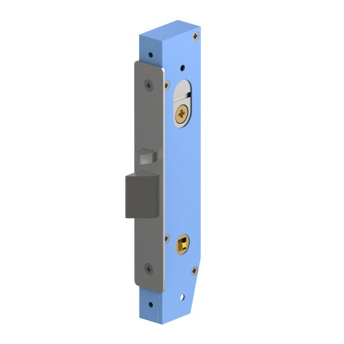Mortice Lock Case, Narrow Stile 23mm Backset, Fire Rated