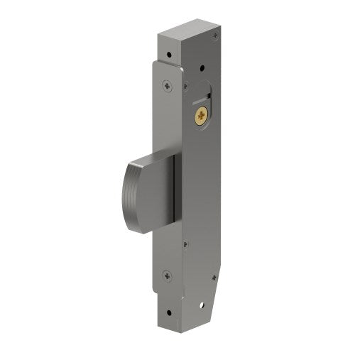 Mortice Dead Bolt Lock Case, Narrow Stile, 23mm Backset, 22mm Bolt, includes 2 Escutheons and 2 Cams