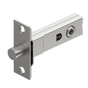 Tubular Mortise Bolt 4.5mm Universal Spindle in Satin Stainless Steel