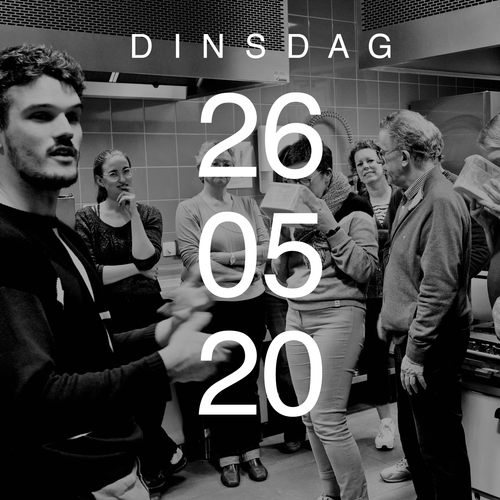 WORKSHOP — Dinsdag 26 mei 2020
