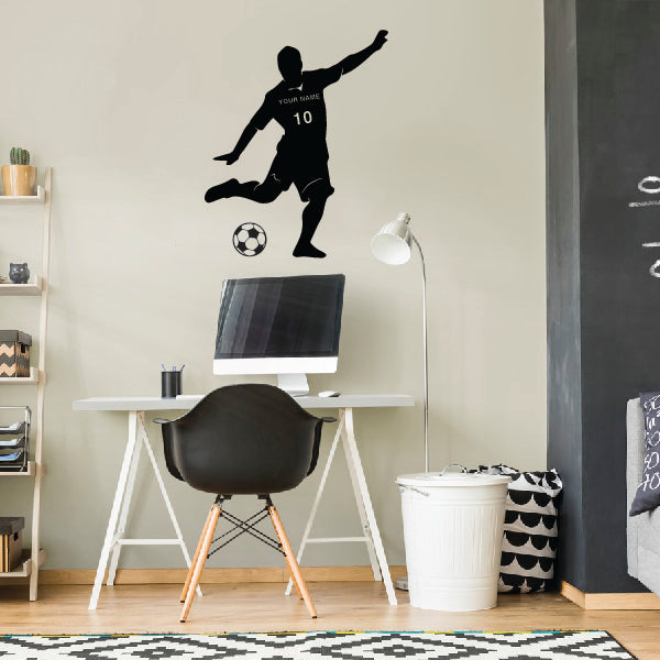 Ready Kick Soccer Player
