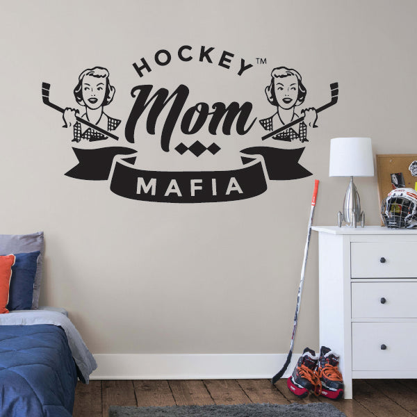 Hockey Mom Mafia Sticker
