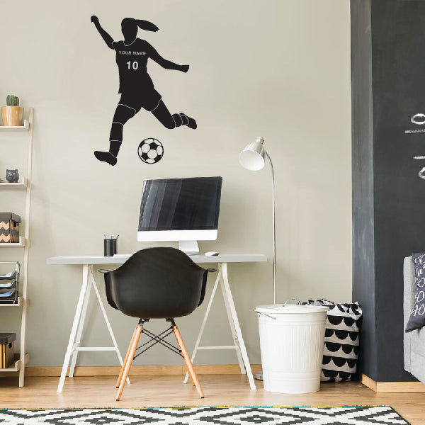 Personalized Soccer Girl