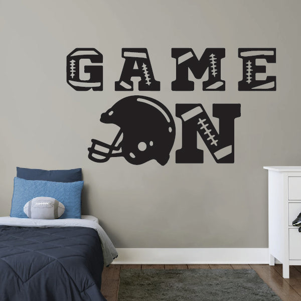 GAME ON - American Football Sticker