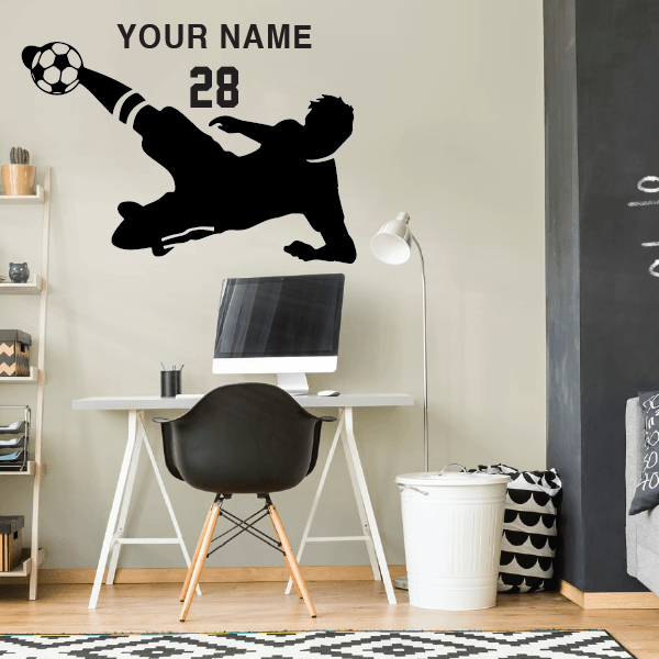 Soccer Player Best Goal - custom name and number