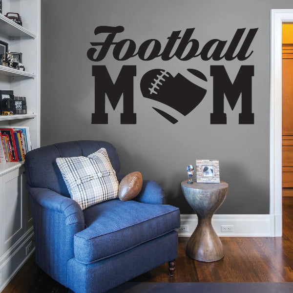 Football Mom sticker