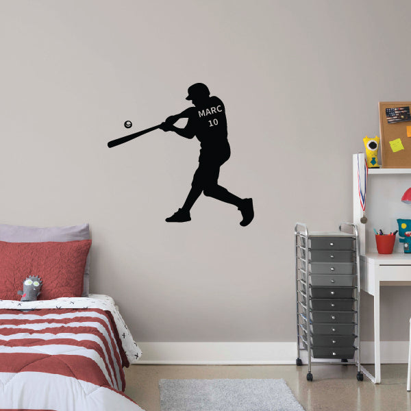 HIT! Personalized Baseball Player
