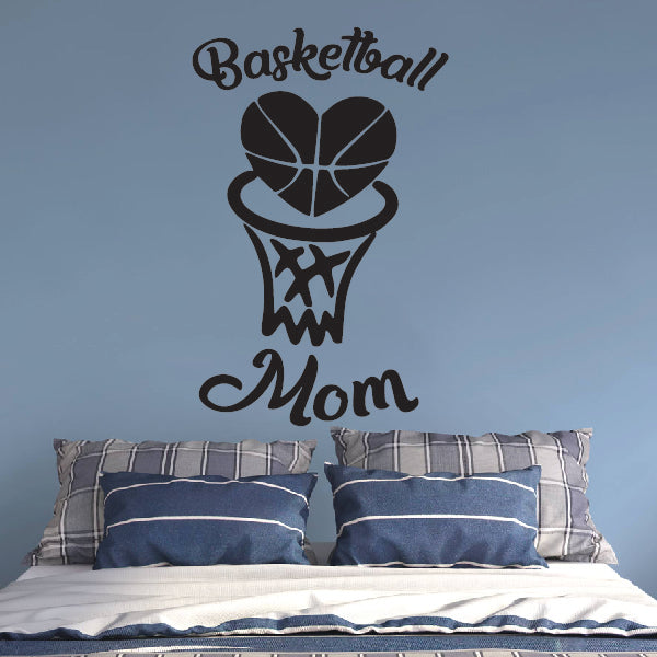 Basketball Mom sticker