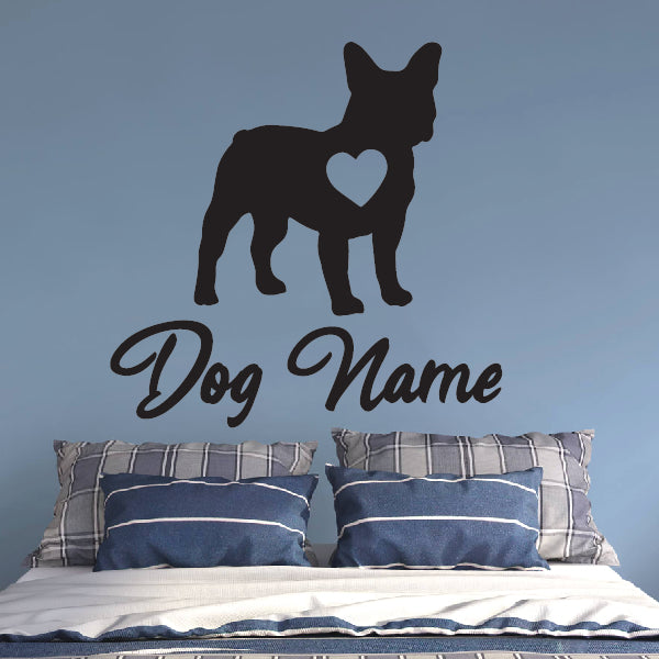 Personalized Frenchie Bulldog sticker with Name!
