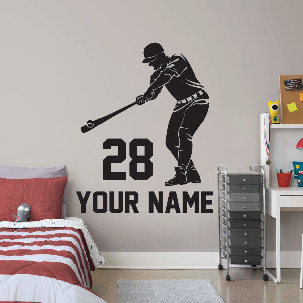 Baseball Hitter - name and number below