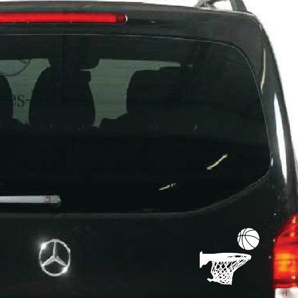 Basketball Sure shot sticker