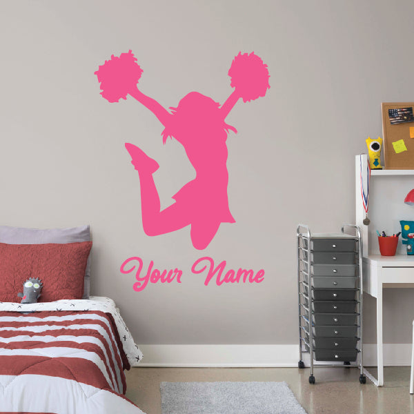 Cheerleading Wall Decal