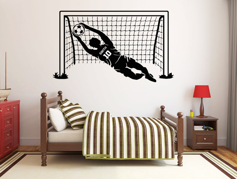 Soccer GOAL KEEPER - personalized