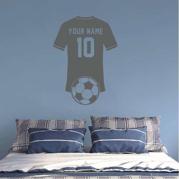 Personalized Soccer Player t-shirt with name and number!