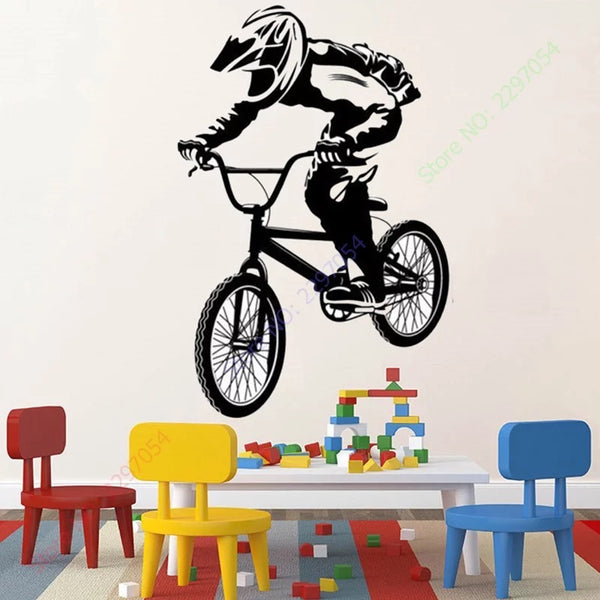 BMX RACE wall sticker
