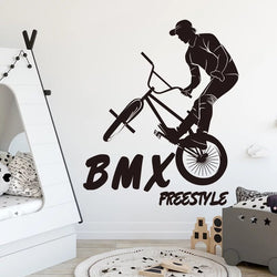 Barspin BMX wall sticker