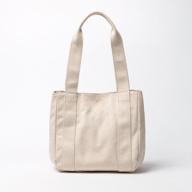 wantmustneed.com / Canvas Tote bag | Alie Jule Beige