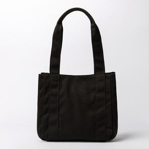 wantmustneed.com / Canvas Tote bag | Alie Jule Black