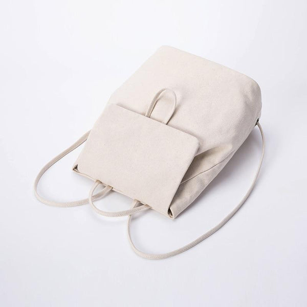 wantmustneed.com / Canvas Backpack | Maya Zoe [variant_title]