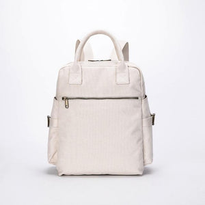 wantmustneed.com / Canvas Backpack | Stella Ivy Beige