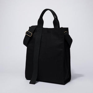 wantmustneed.com / Canvas Tote Bag | Anna Sophia Black