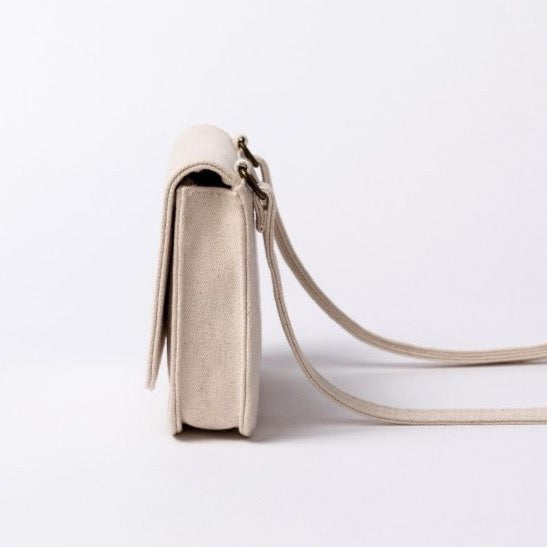 Canvas Shoulder Bag | Hannah Elena