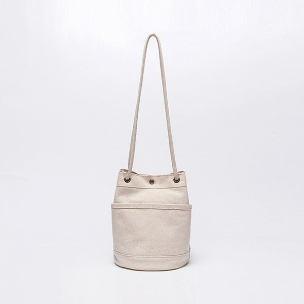 Canvas Shoulder Bag | Ellie Riley