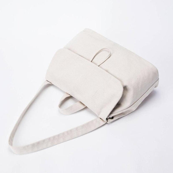 wantmustneed.com / Canvas Shoulder Bag | Mila Ava [variant_title]