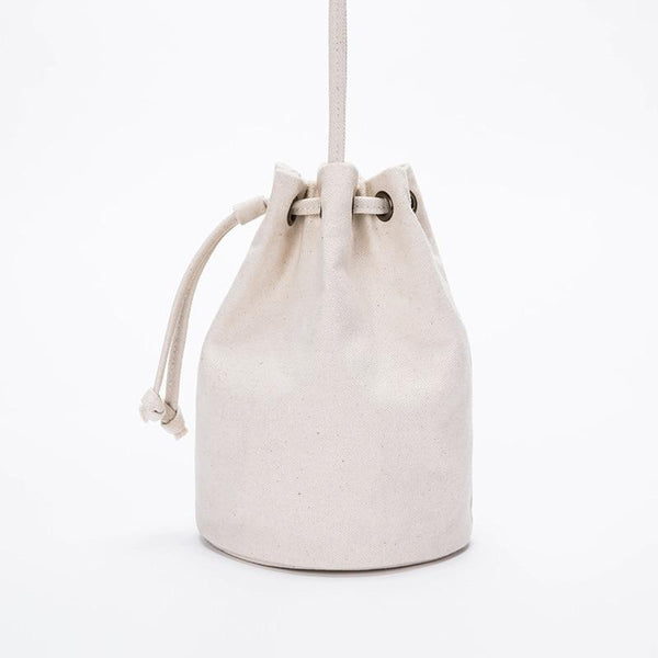 wantmustneed.com / Canvas Bucket Bag | Lisa May [variant_title]