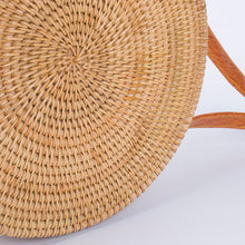 Load image into Gallery viewer, wantmustneed.com / Round Handmade Rattan Bag | Hasp Top [variant_title]