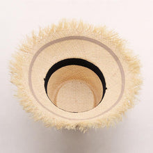 Load image into Gallery viewer, wantmustneed.com / Handmade Bucket Sun Hat | Raffia Straw Hadley [variant_title]