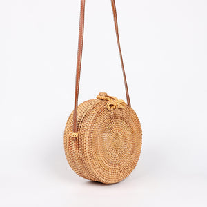 wantmustneed.com / Round Handmade Rattan Bag | Bohemian Bow [variant_title]