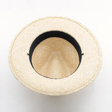 Load image into Gallery viewer, wantmustneed.com / Handmade Fedora Sun Hat Straw | Raffia Straw Taylor [variant_title]