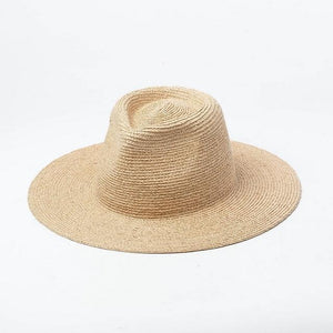 wantmustneed.com / Handmade Panama Sun Hat | Fine Raffia Straw Bella Without Trim / One Size