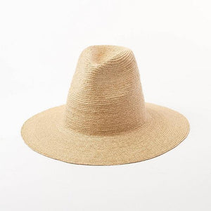 wantmustneed.com / Handmade High Sun Hat | Fine Raffia Straw Sofia Without Trim / One Size