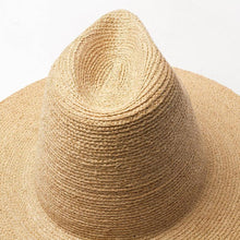 Load image into Gallery viewer, wantmustneed.com / Handmade High Sun Hat | Fine Raffia Straw Sofia [variant_title]