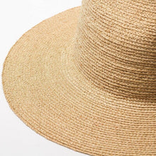 Load image into Gallery viewer, Handmade High Sun Hat | Fine Raffia Straw Sofia_wantmustneed.com