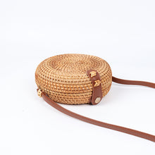 Load image into Gallery viewer, Round Handmade Rattan Bag | Bohemian Circle_wantmustneed.com