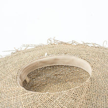 Load image into Gallery viewer, Handmade Wide Brim Sun Hat | Sea Straw Floppy Layla_wantmustneed.com