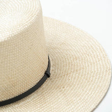Load image into Gallery viewer, Handmade Boater Sun Hat | Sisal Straw Isla_wantmustneed.com