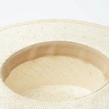 Load image into Gallery viewer, wantmustneed.com / Handmade Boater Sun Hat | Sisal Straw Isla [variant_title]