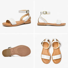 Load image into Gallery viewer, wantmustneed.com / Genuine Leather Sandals | Ankle Wrap Kylie [variant_title]