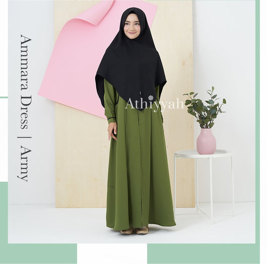 Ammara Dress - Alhigam