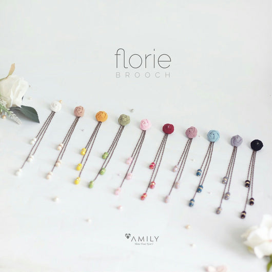 Florie Brooch - Amily Hijab