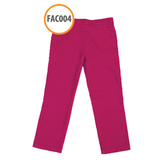 Celana Anak Girl Basic Fit FAC004 Pink by Afra Kids - Alhigam