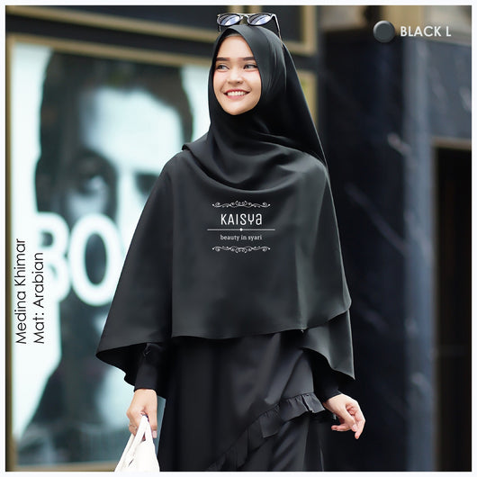 MEDINA KHIMAR by house of Kaisya