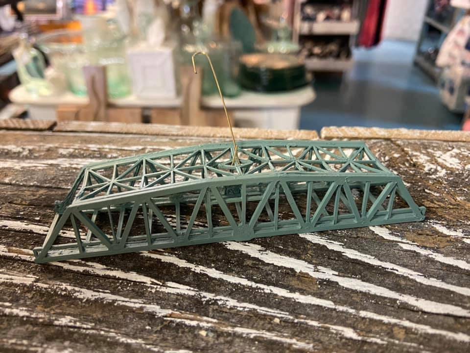 Surf City Swing Bridge Ornament