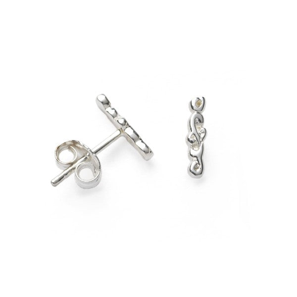 Southern Gates Vertical Bar Stud Earrings