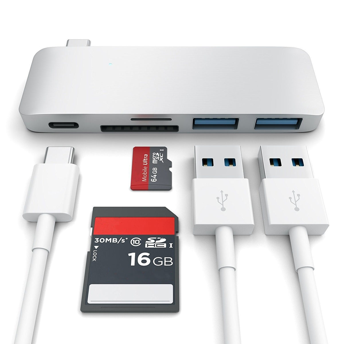 Type-C USB 3.0 3 in 1 Combo Hub