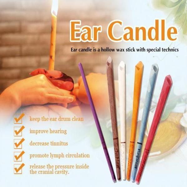 Ear Candle - Relieves Stress and Headaches